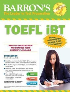 TOEFL iBT with CD-ROM and 2 Audio CDs