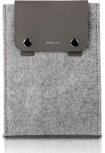 Speedlink SL-7074-GY Slicker Style Sleeve, Etui für Apple iPad m