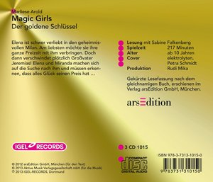 Magic Girls Der Goldene Schlüs