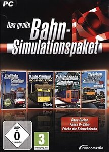 Das große Bahn-Simulationspaket (Baue Gleise, Fahre U-Bahn, Erle