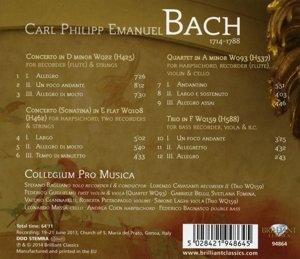 Recorder Concertos - Chamber Music