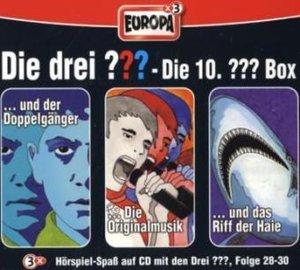 Die drei ??? Box 10. Folgen 28-30 (drei Fragezeichen). 3 CDs