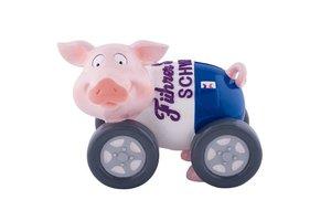Spardose Sparschweini, Führerschein
