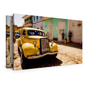 Premium Textil-Leinwand 90 cm x 60 cm quer Trinidad