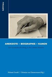 Anekdote - Biographie - Kanon