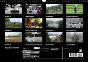 Fesselndes Vietnam (Wandkalender 2016 DIN A3 quer)