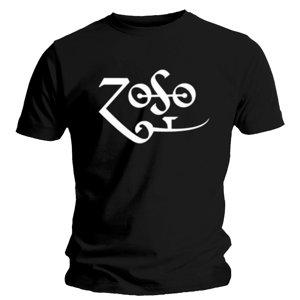 Zoso (T-Shirt,Schwarz,Größe M)