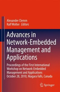Advances in Network-Embedded Management and Applications