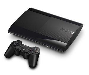 PlayStation 3 Konsole - 12 GB - Schwarz (Super Slim)