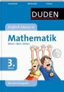 Duden - Einfach klasse in Mathematik 3. Klasse