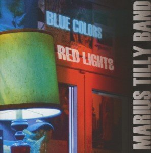 Blue Colors Red Lights