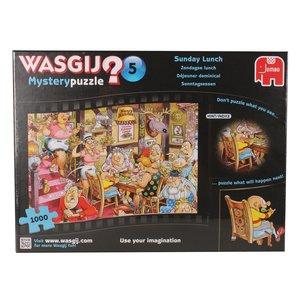 Jumbo 12282 - Wasgij Mystery 5 - Sonntagsessen - 1000 Teile