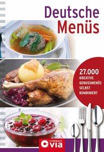 Deutsche Menüs