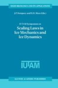 IUTAM Symposium on Scaling Laws in Ice Mechanics and Ice Dynamic
