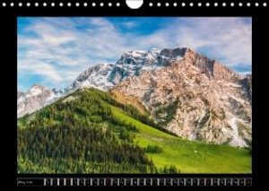 FROM MOUNTAINS TO SEA - Landscapes of Germany (Wall Calendar 201