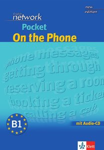 English Network Pocket On the Phone - Buch mit Audio-CD
