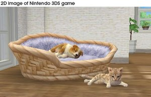 Nintendogs Bulldog and New Friends. Nintendo 3DS