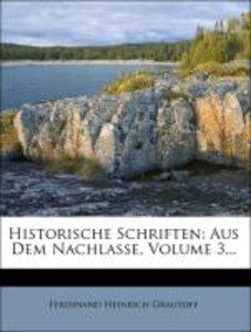 Historische Schriften.