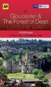 Leisure Map WK 21 Gloucester 1 : 50 000