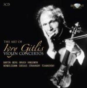 The Art Of Ivry Gitlis: Violin Concertos
