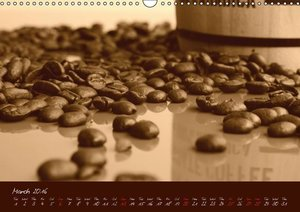 Coffee Consumption Calendar (Wall Calendar 2016 DIN A3 Landscape