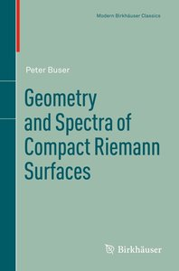 Geometry and Spectra of Compact Riemann Surfaces