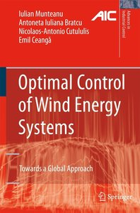Optimal Control of Wind Energy Systems