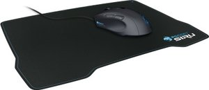 ROCCAT SIRU Pitch Black Desk Fitting Gaming Mousepad