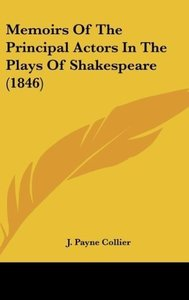 Memoirs Of The Principal Actors In The Plays Of Shakespeare (184