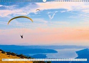 Edition Funsport: Paragliding - Durch die Luft schweben (Wandkal