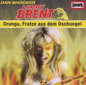 Larry Brent 16-Orungu,Fratze Aus Dem Dschungel