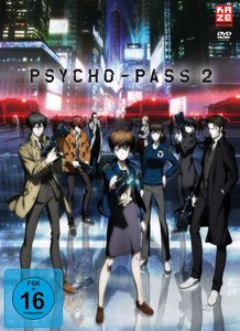 Psycho Pass - 2. Staffel - Box 1 (2 DVDs) + Sammelschuber (Limit
