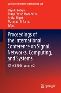 Proceedings of the International Conference on Signal, Networks,