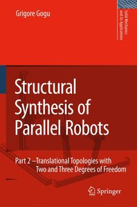 Structural Synthesis of Parallel Robots 2