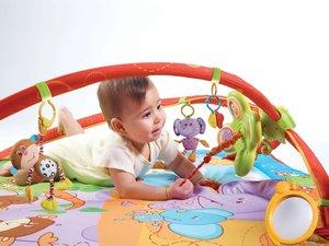 Jumbo Spiele T00011 - Tiny Love: Gymini Move & Play, Spielmatte