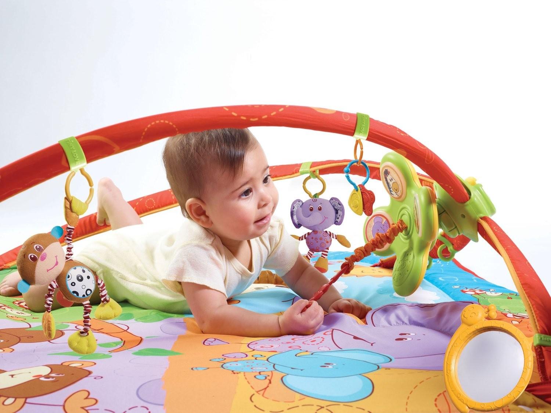 Jumbo Spiele T00011 - Tiny Love: Gymini Move & Play, Spielmatte - zum Schließen ins Bild klicken