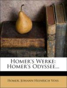 Homer's Werke von Johann Heinrich Voss.