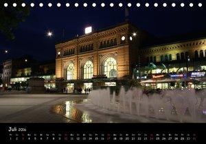 Nachts in Hannover (Tischkalender 2016 DIN A5 quer)