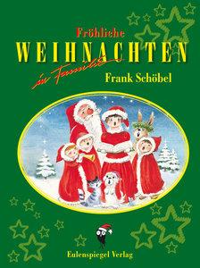 Fröhliche Weihnachten in Familie mit Aurora und Frank