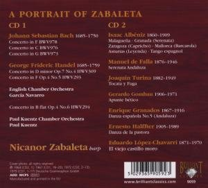 A Portrait of Zabaleta-Harfenstücke