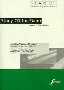 "Study-CD for Piano-Sonatine V ""Jugendfreuden"""
