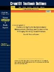 Outlines & Highlights for International Management