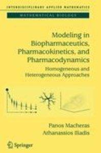 Modeling in Biopharmaceutics, Pharmacokinetics and Pharmacodynam