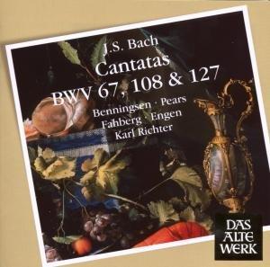 Kantaten BWV 67,108 & 127