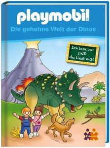 PLAYMOBIL. Die geheime Welt der Dinos für Erstleser