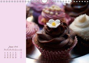Cupcakes - lecker garniert (Wandkalender 2016 DIN A4 quer)