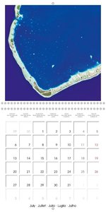 Discovering the earth from space (Wall Calendar 2015 300 × 300 m