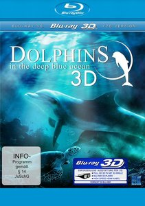 Dolphins In The Deep Blue Ocean 3D