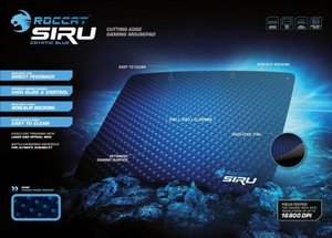 ROCCAT SIRU Cryptic Blue Desk Fitting Gaming Mousepad