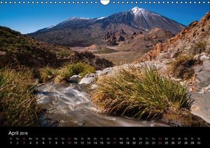 El Teide, Teneriffa (Wandkalender 2016 DIN A3 quer)